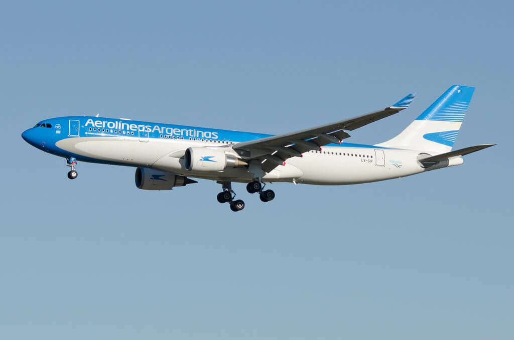 Aerolineas Argentinas Airbus A330 202 LV GIF