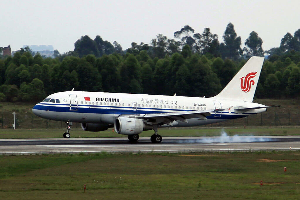 Air China Airbus A319 115 B 6038 at Chengdu Shuangliu International Airport