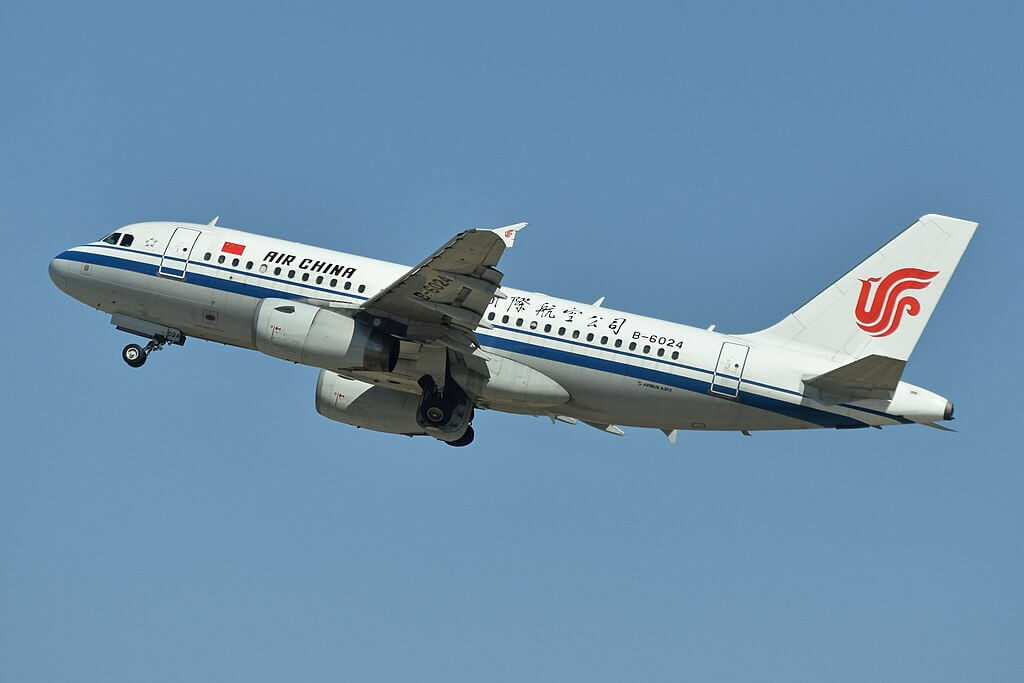 Air China Airbus A319 131 B 6024 at Beijing Capital International Airport