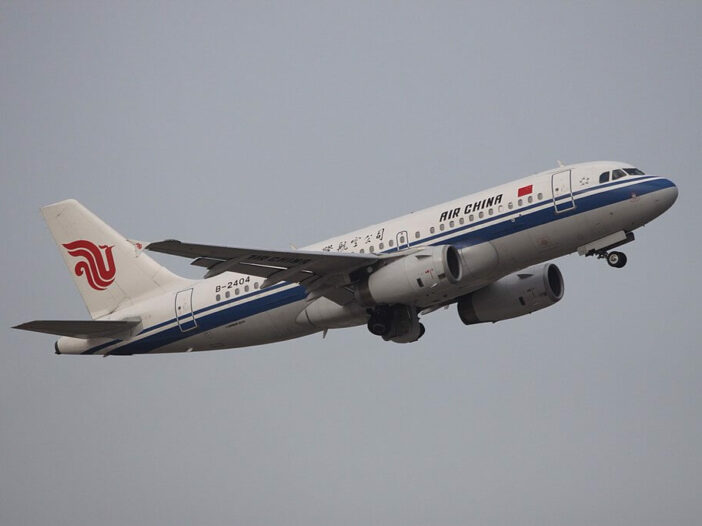 Air China B 2404 Airbus A319 131 at Shenzhen Baoan International Airport