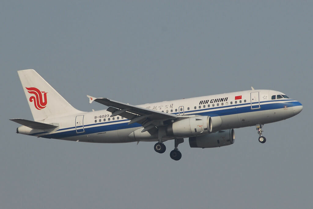Air China B 6023 Airbus A319 131