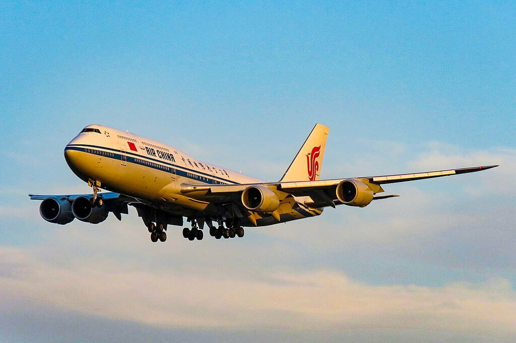 Air China Boeing 747 89L B 2486 at Beijing Capital International Airport