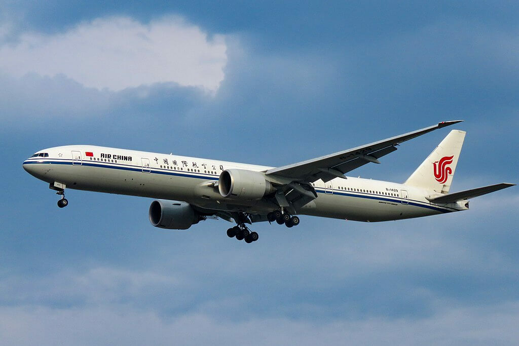 Air China Boeing 777 39LER B 1429 at Beijing Capital International Airport