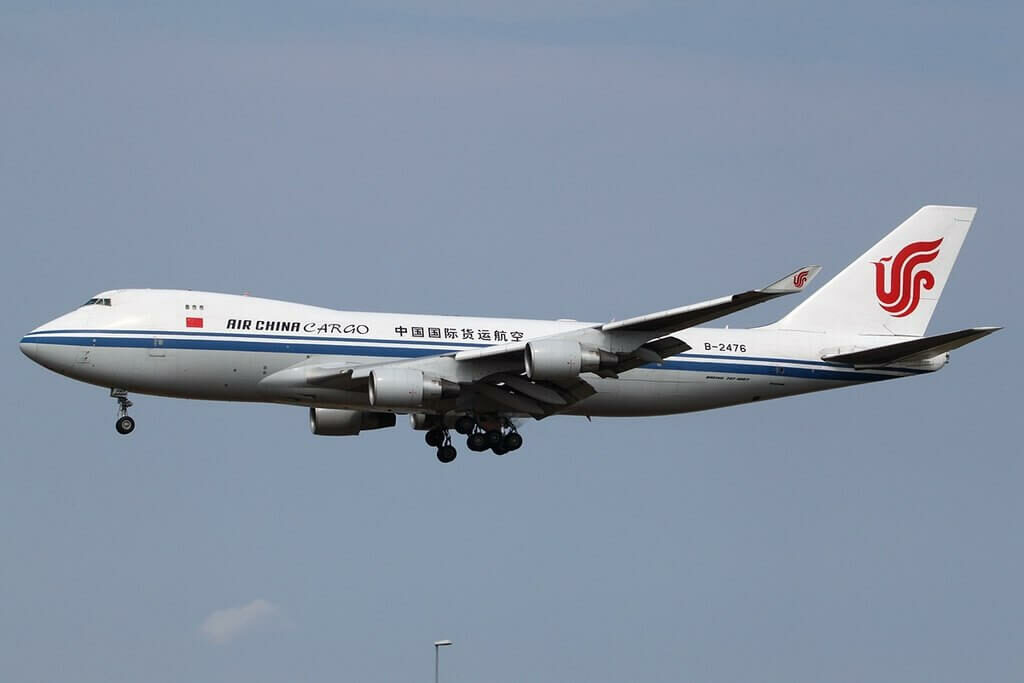Air China Cargo Boeing 747 4FTF B 2476 at Copenhagen Airport