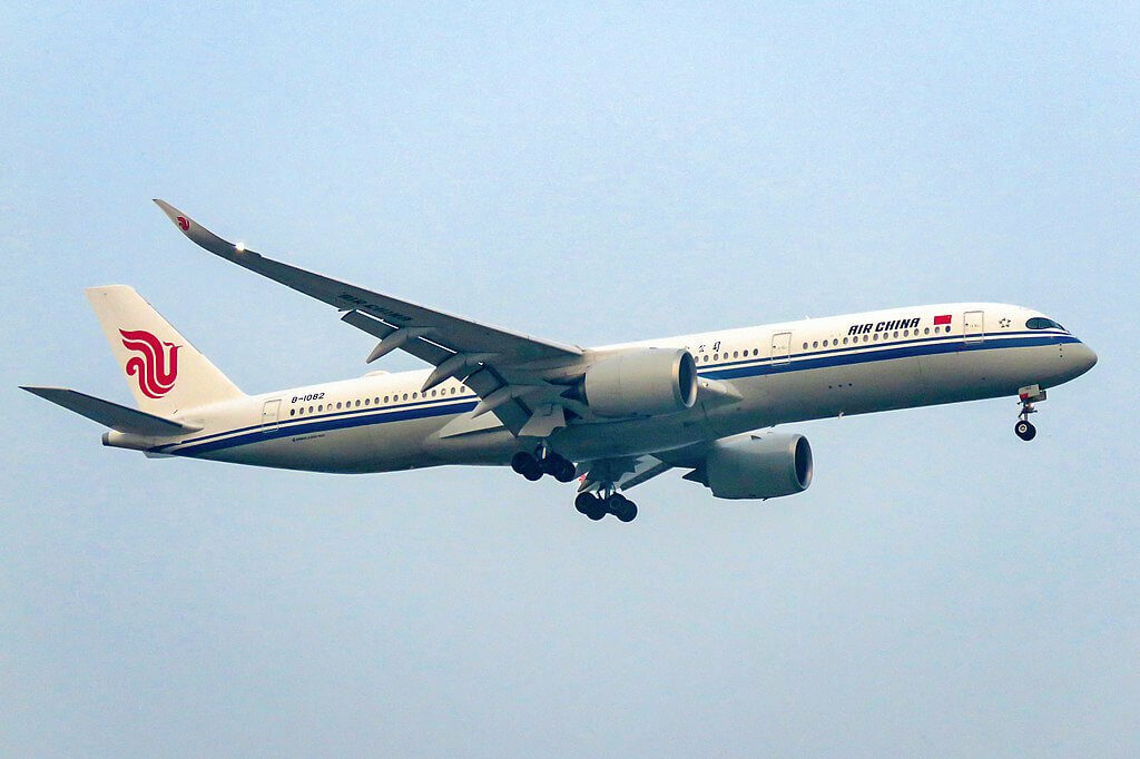Airbus A350 941 B 1082 Air China at Beijing Capital International Airport