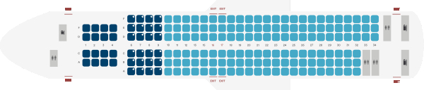 Alaska Airlines Boeing 737 900ER Seating Plan