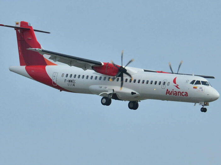 Avianca ATR 72 600 72 212A HK 4955 at Toulouse Blagnac International Airport