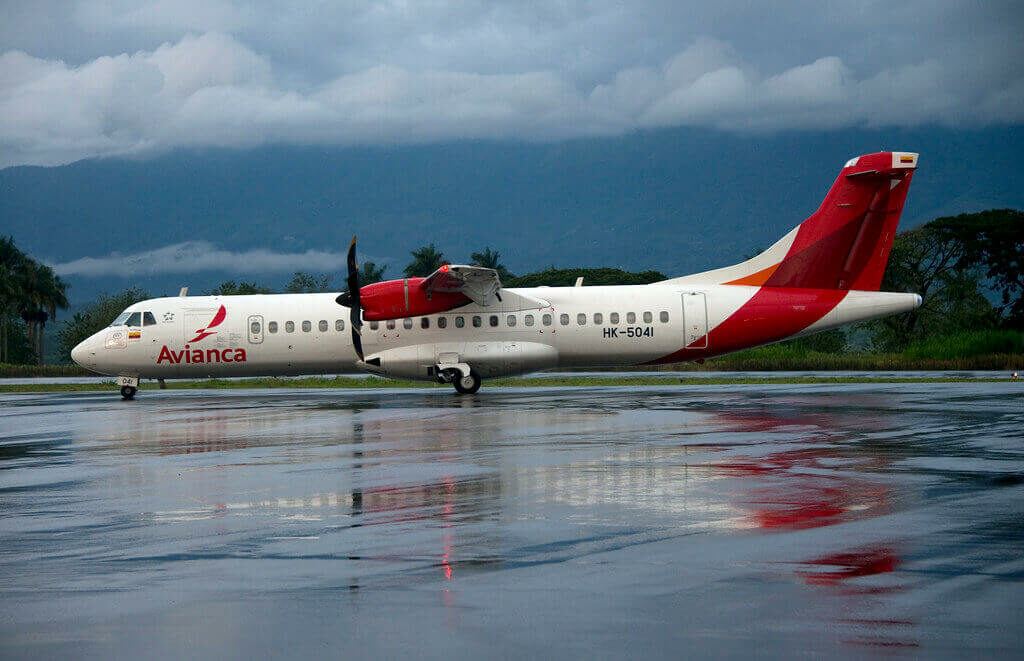 Avianca ATR 72 600 72 212A HK 5041 at El Eden International Airport