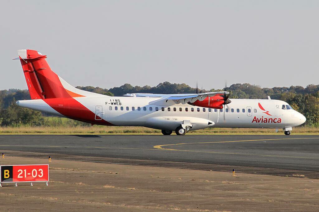 Avianca ATR 72 600 72 212A HR AYM