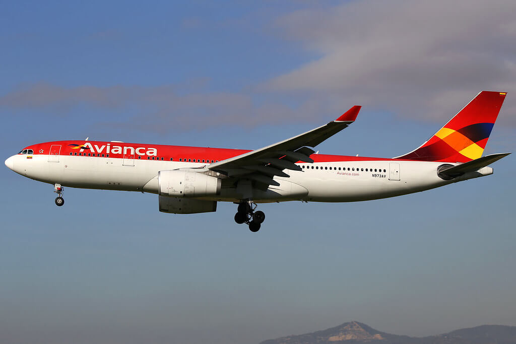 Avianca Airbus A330 243 N973AV