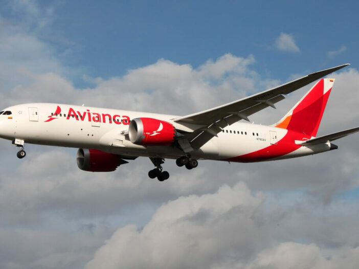 Avianca Boeing 787 8 Dreamliner N780AV at London Heathrow Airport