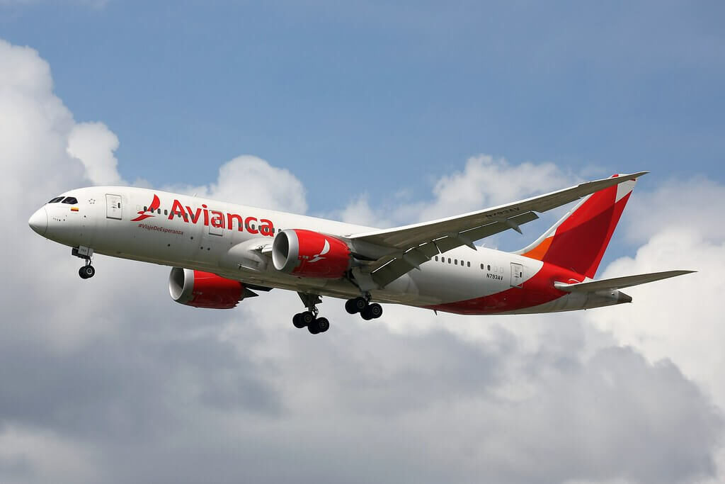 Avianca Boeing 787 8 Dreamliner N793AV at LHR Airport