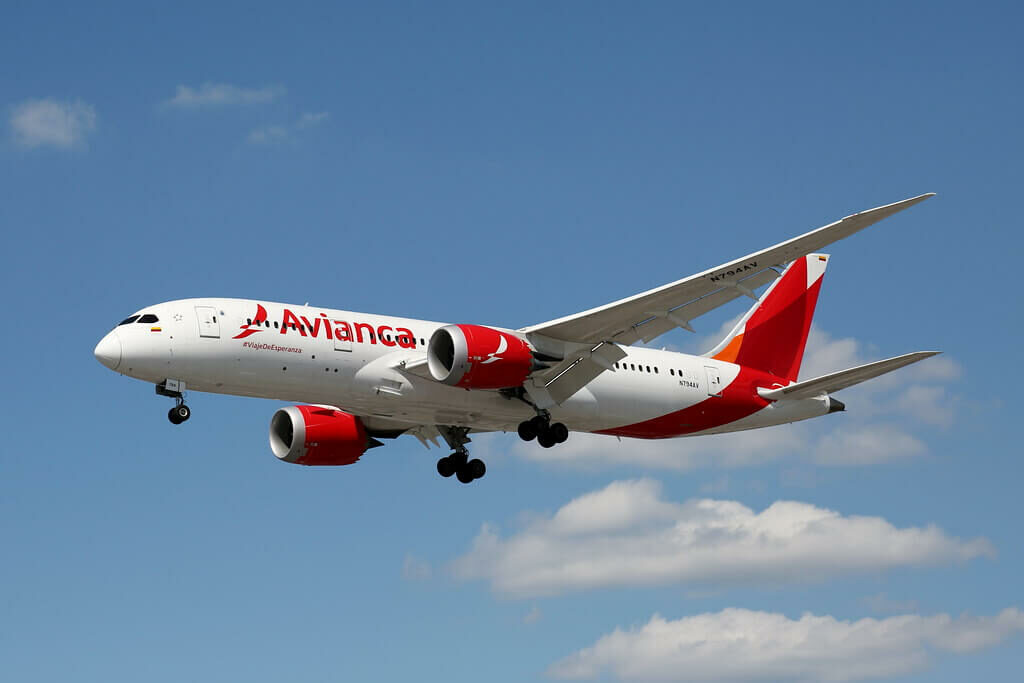 Avianca Boeing 787 8 Dreamliner N794AV at LHR