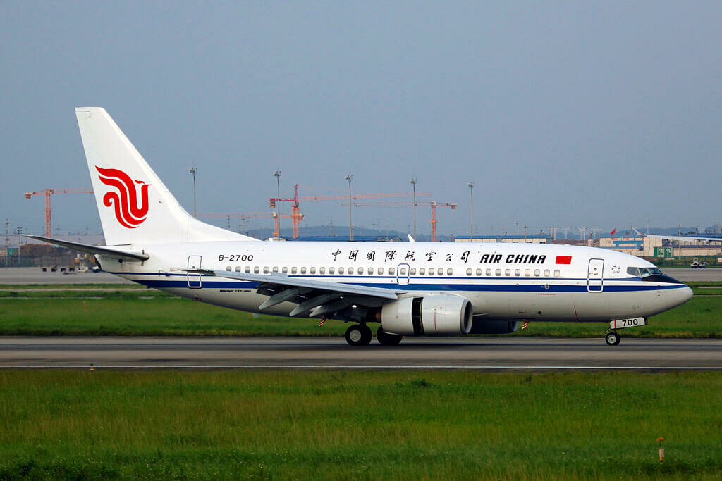 B 2700 Boeing 737 79L Air China at Guangzhou Baiyun International Airport