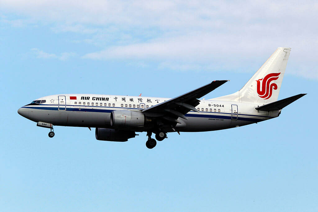 B 5044 Boeing 737 79L Air China at Beijing Capital International Airport