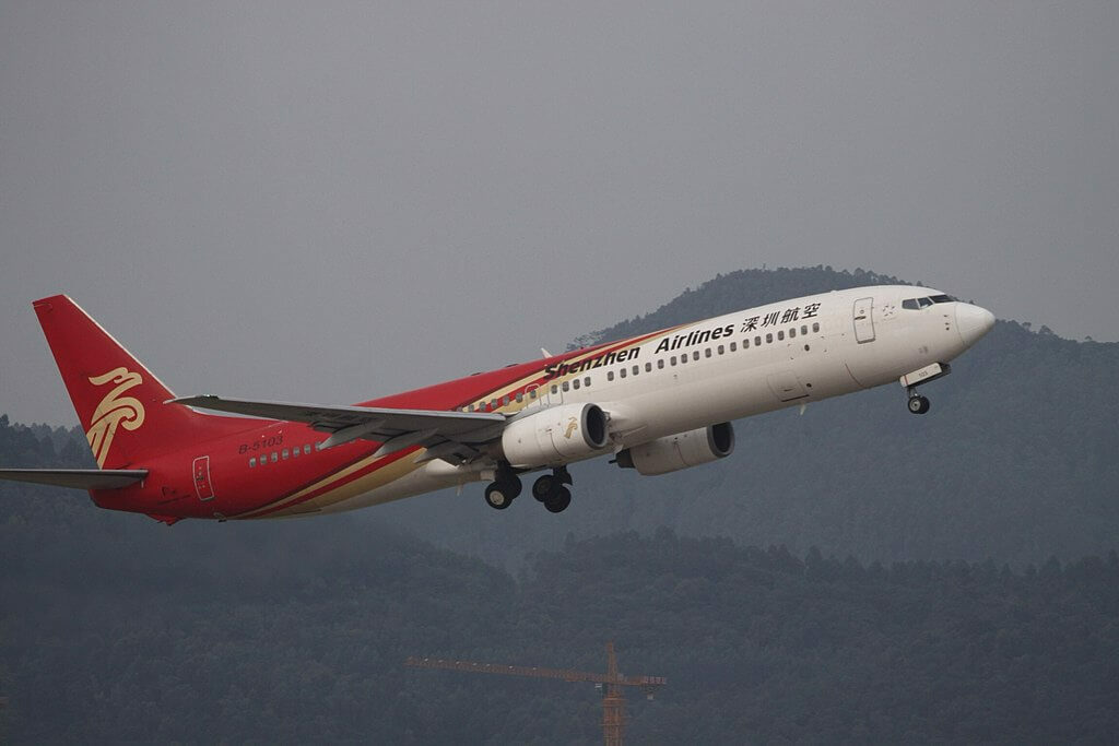 B 5103 Boeing 737 97L Shenzhen Airlines at Shenzhen Baoan International Airport