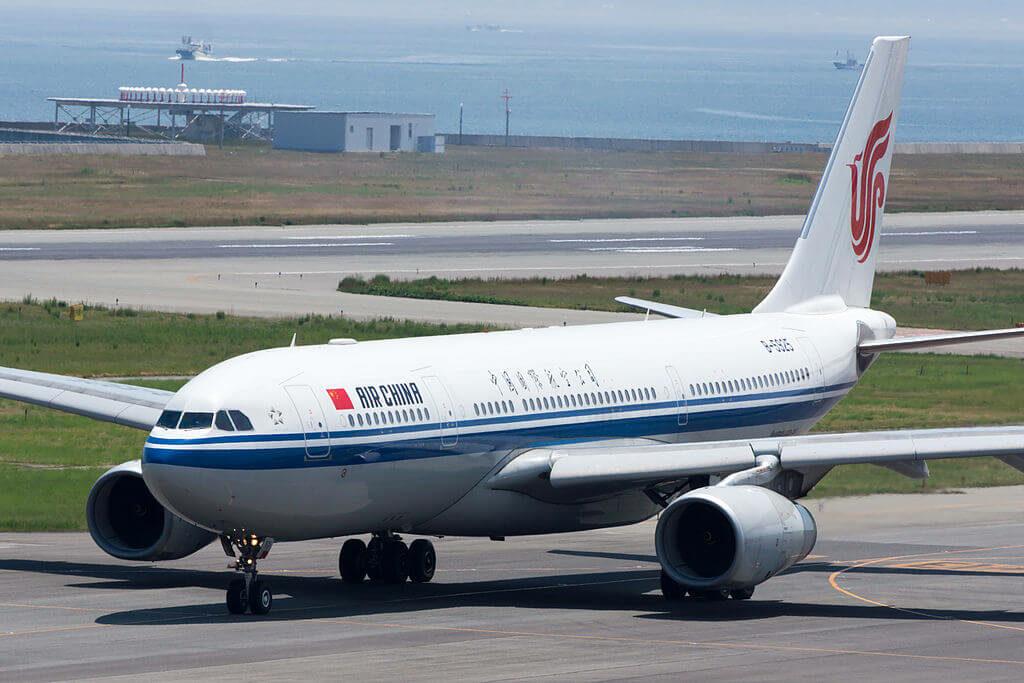 B 5925 Airbus A330 243 Air China at Kansai International Airport