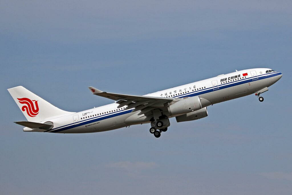 B 5932 Airbus A330 243 Air China at Toulouse Blagnac International Airport