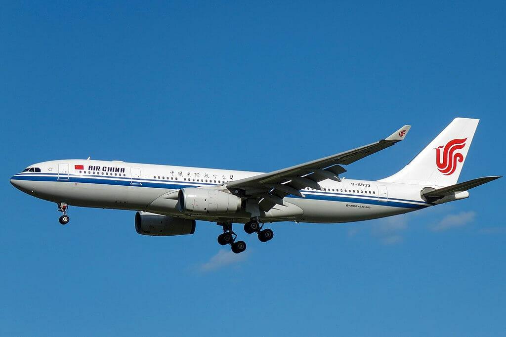 B 5933 Airbus A330 243 Air China at Beijing Capital International Airport