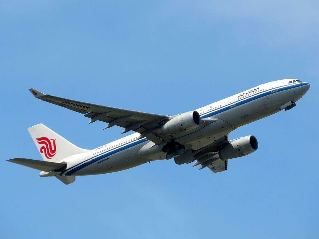B 6070 Airbus A330 243 Air China at Frankfurt Airport