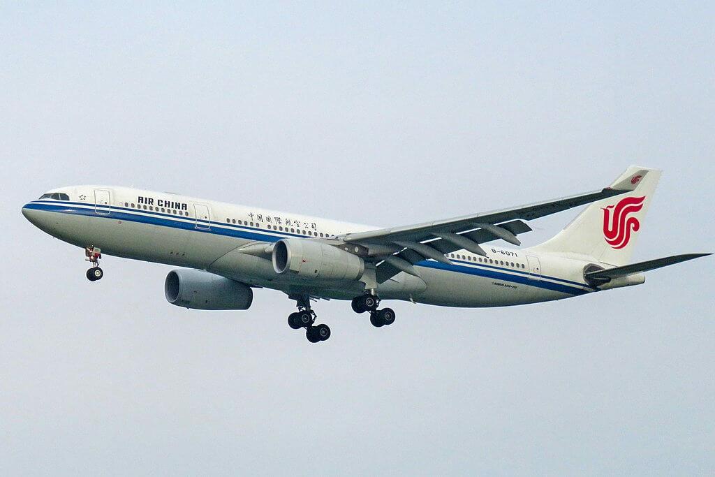 B 6071 Airbus A330 243 Air China at Beijing Capital International Airport