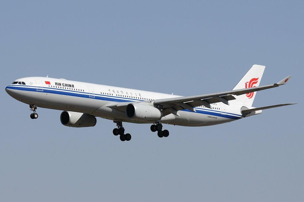 B 6523 Airbus A330 343 Air China at Beijing Capital International Airport