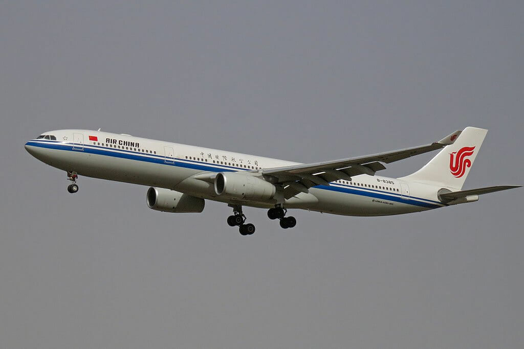 B 8385 Airbus A330 343 Air China at Beijing Capital International Airport