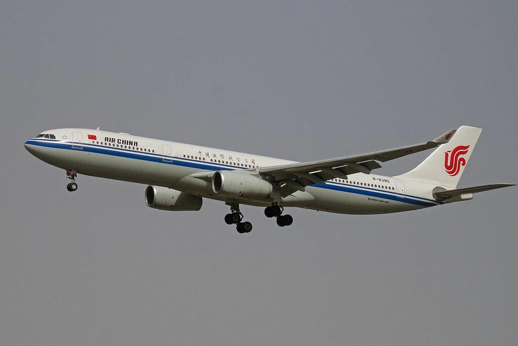 B 8385 Airbus A330 343 Air China at Beijing Capital International Airport