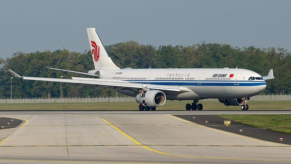 B 8386 Airbus A330 343 Air China at Frankfurt Airport