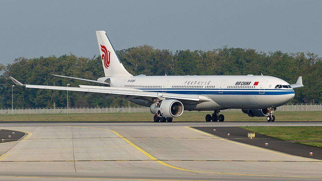 B 8386 Airbus A330 343 Air China at Frankfurt Airport