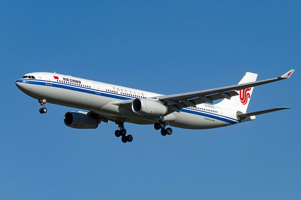 B 8579 Airbus A330 343 Air China at Beijing Capital International Airport