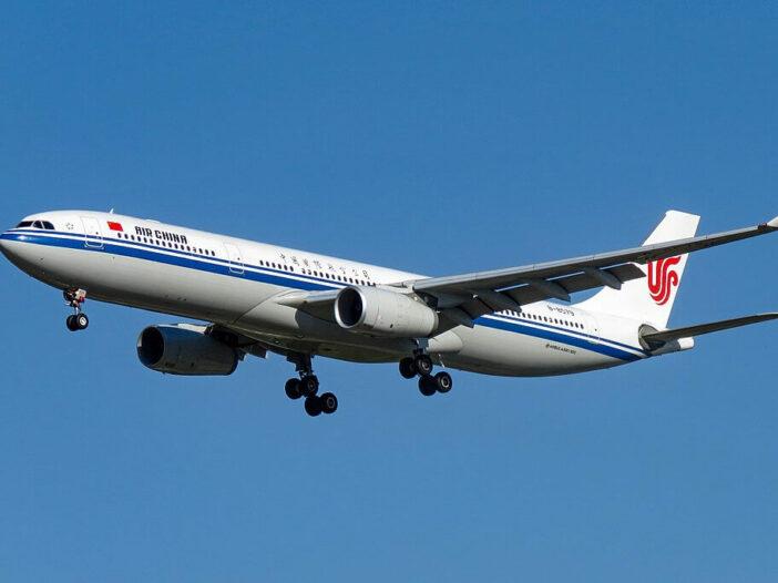 B 8579 Airbus A330 343 Air China at Beijing Capital International Airport
