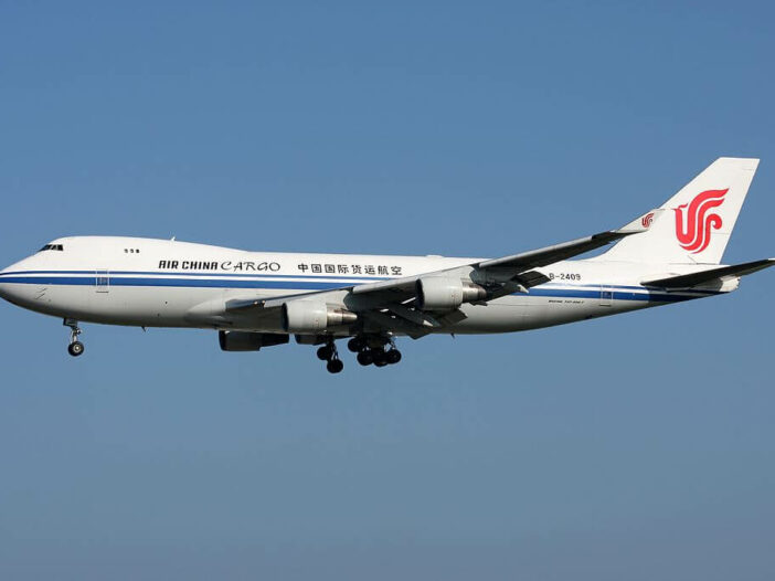 Boeing 747 412F B 2409 Air China Cargo at Frankfurt Airport