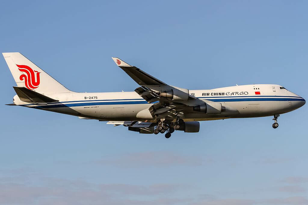 Boeing 747 4FTF B 2475 Air China Cargo at Frankfurt Airport