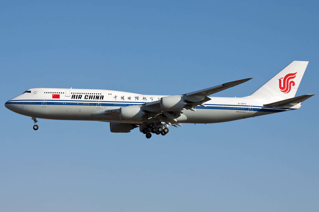 Boeing 747 89L B 2479 Air China at Beijing Capital International Airport