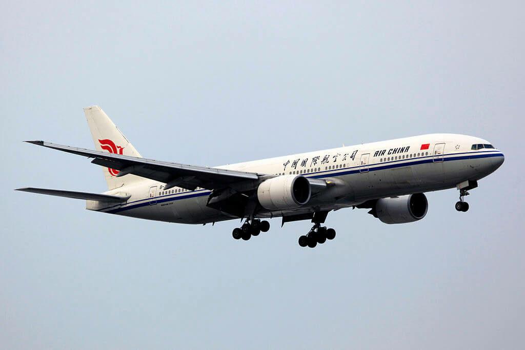 Boeing 777 2J6 B 2069 Air China at Shanghai Hongqiao International Airport