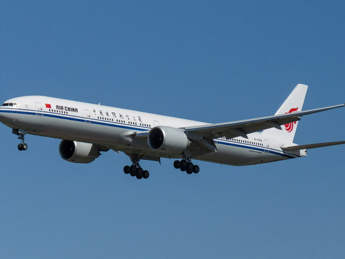 Boeing 777 39LER B 1266 Boeing 777 of Air China at Beijing Capital International Airport