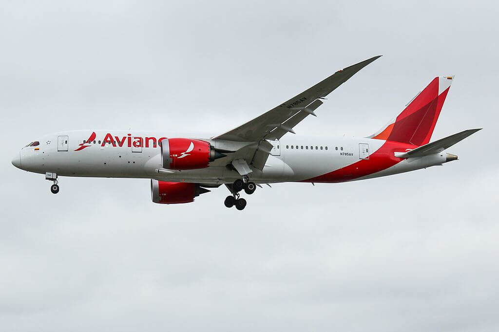 Boeing 787 8 Dreamliner N785AV Avianca at London Heathrow Airport