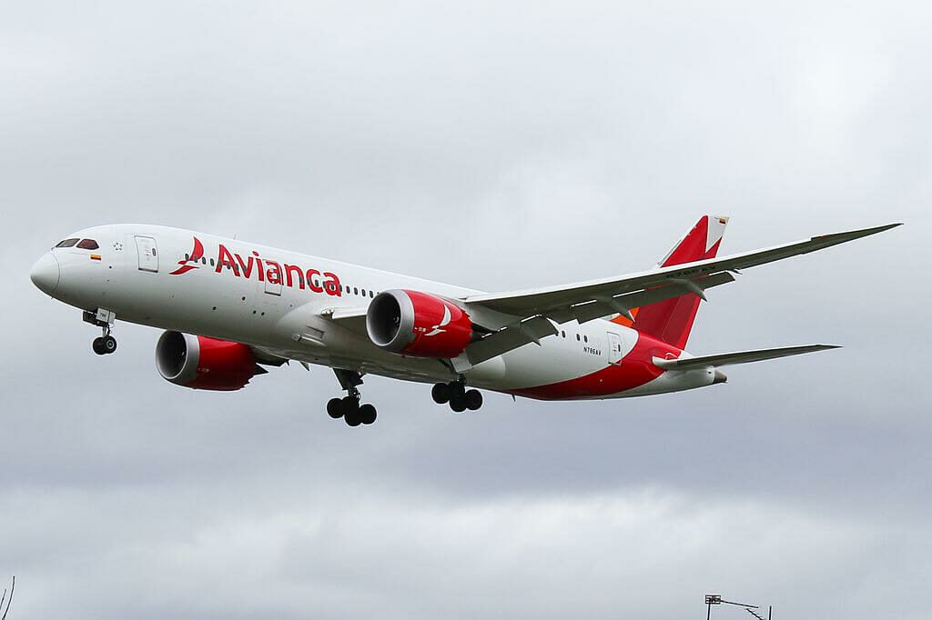 Boeing 787 8 Dreamliner N786AV Avianca at London Heathrow Airport