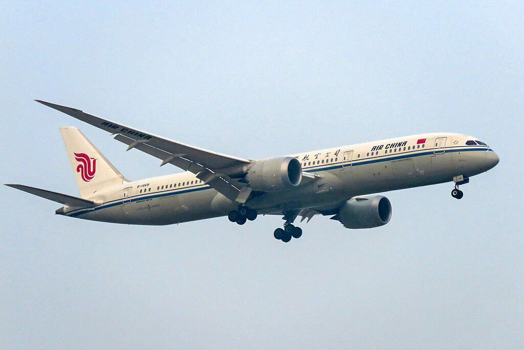 Boeing 787 9 Dreamliner B 1468 Air China at Beijing Capital International Airport