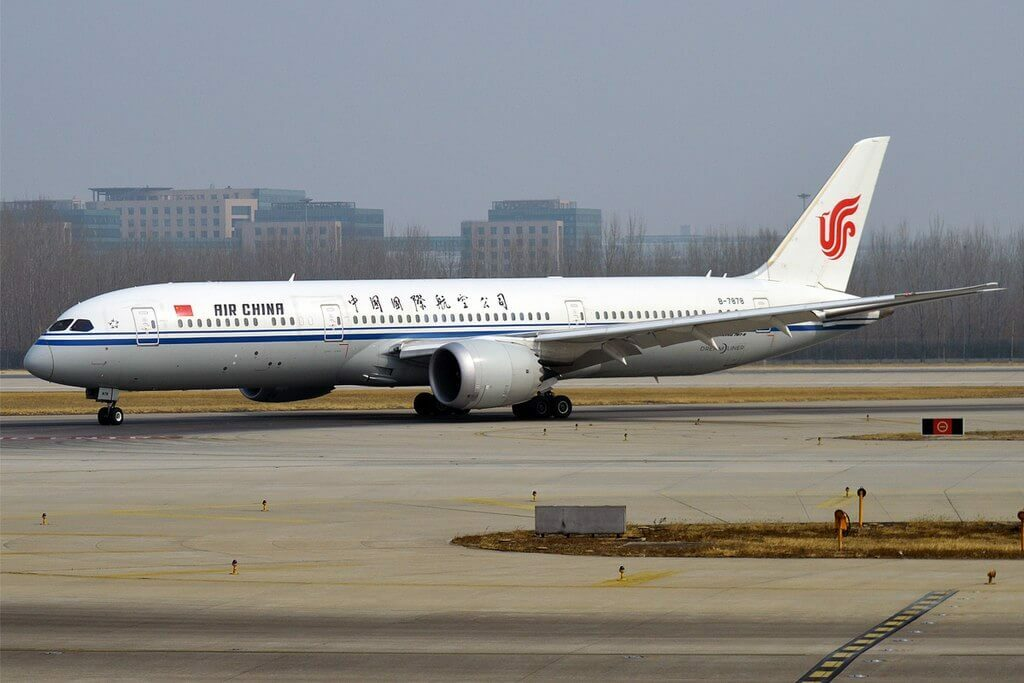 Boeing 787 9 Dreamliner B 7878 Air China at Beijing Capital International Airport
