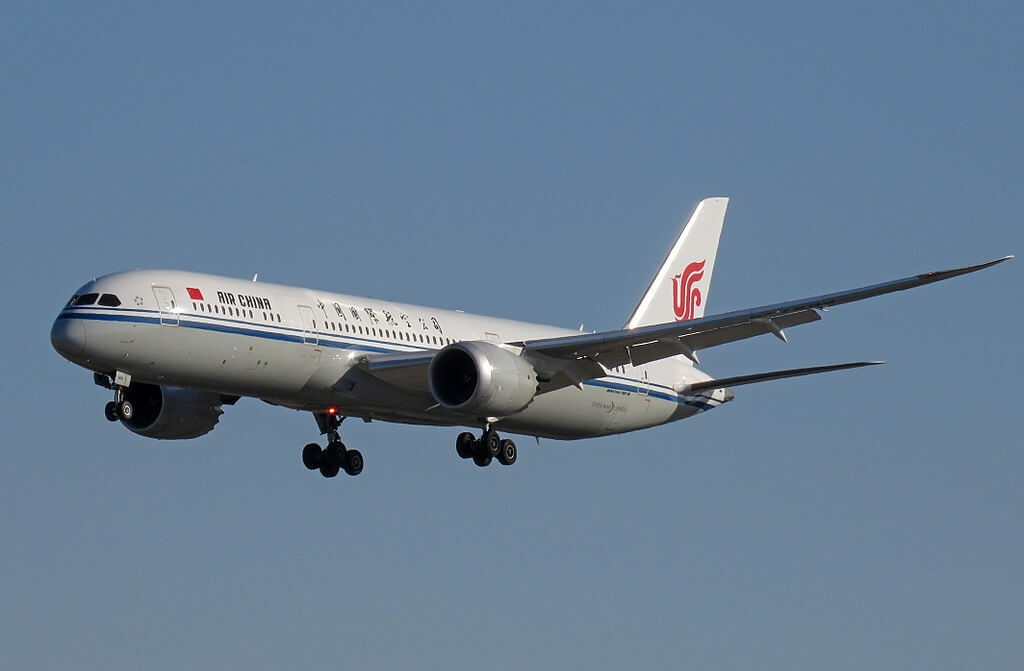 Boeing 787 9 Dreamliner B 7899 Air China at Beijing Capital International Airport