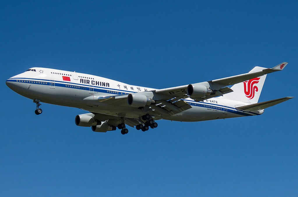 China Air Force One Boeing 747 4J6 B 2472 Air China at Beijing Capital International Airport