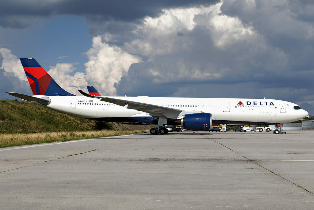 Delta Air Lines N401DZ Airbus A330 941neo at Atlanta Hartsfield Jackson
