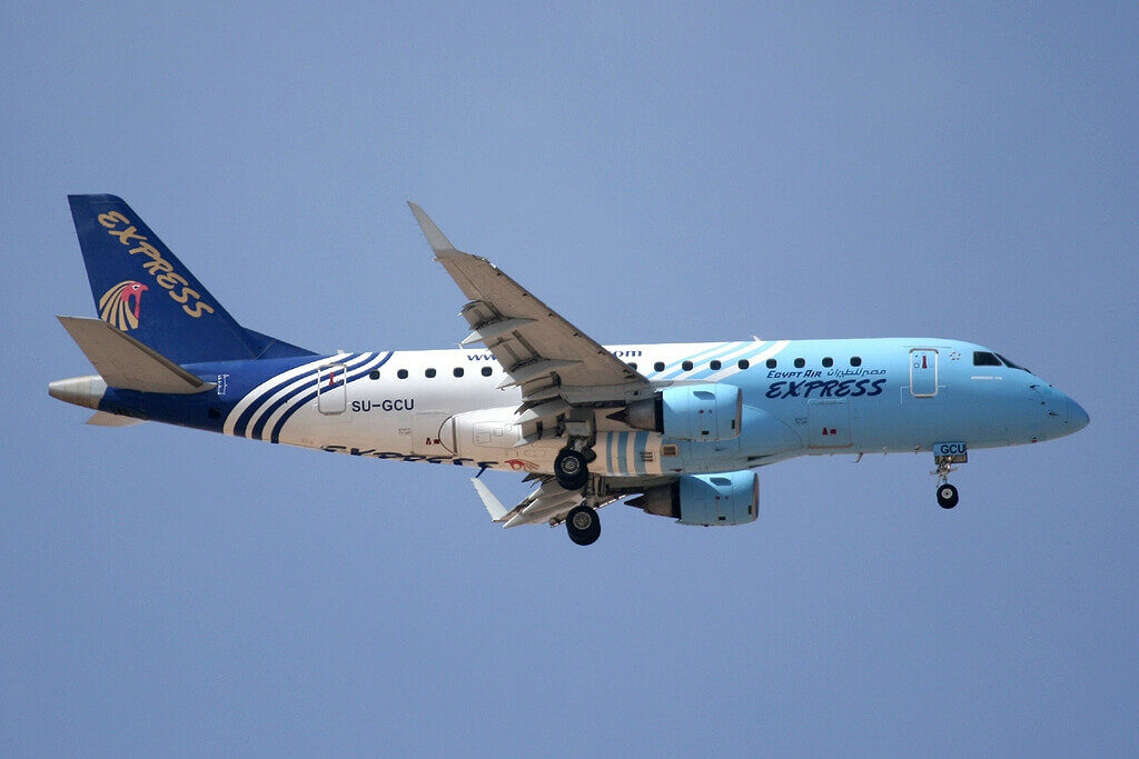 EgyptAir Express SU GCU Embraer ERJ 170LR ERJ 170 100 LR at Hurghada International Airport
