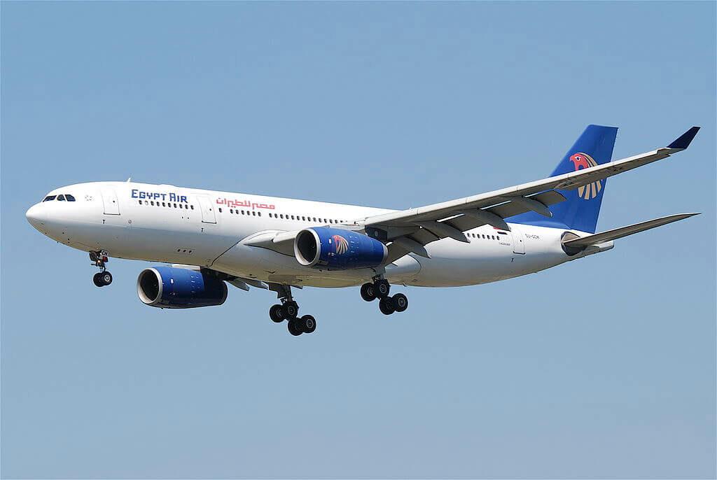 Egyptair SU GCH Airbus A330 243 at Frankfurt Airport