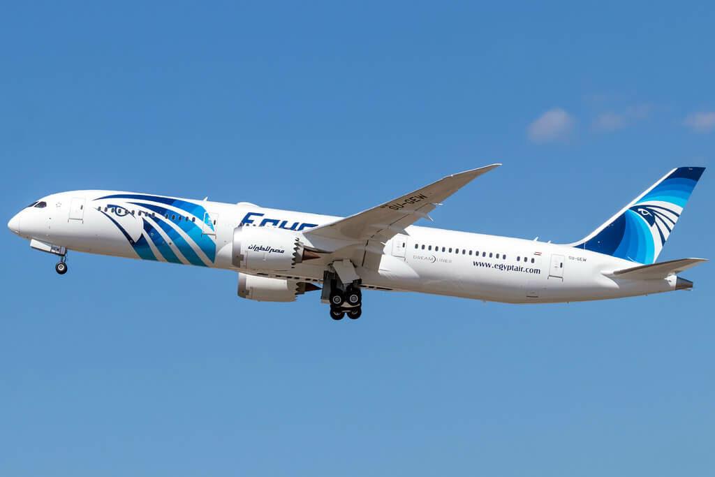 Egyptair SU GEW Boeing 787 9 Dreamliner
