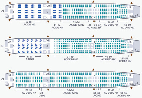 Garuda Indonesia Airbus A330 300 Seating Plan