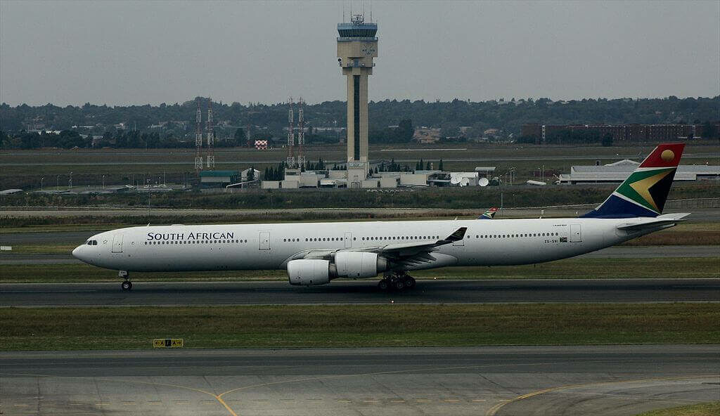 SAA South African Airways ZS SNI Airbus A340 642