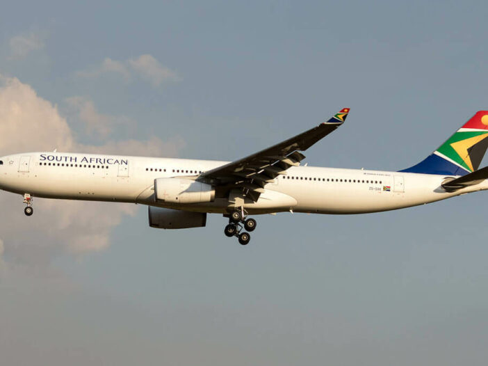 SAA South African Airways ZS SXK Airbus A330 343 at Sao Paulo International Airport